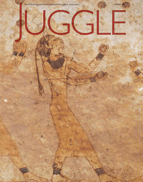 JUGGLE magazine cover