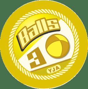 3 Balls badge