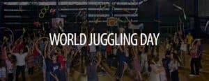 world juggling day background