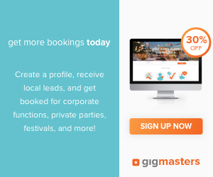 GigMasters 30% off