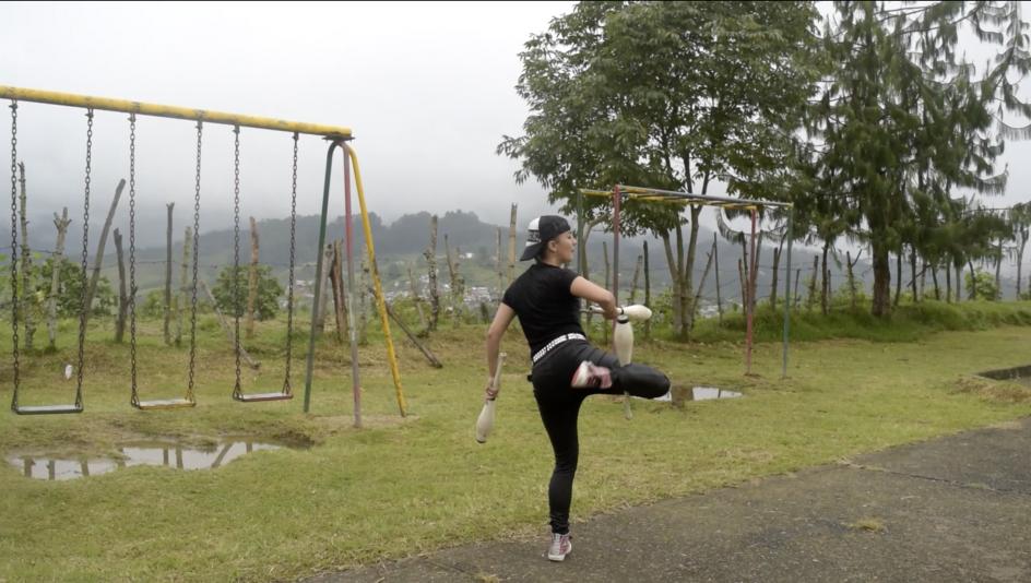 Video Colaboración Latinaméricano de Malabarismo
