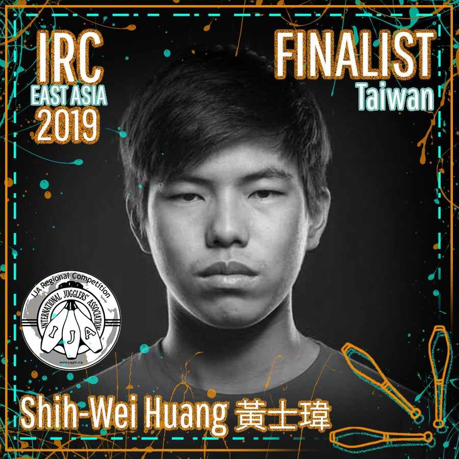 HUANG, SHIH-WEI, IRC East Asia 2019 Finalist