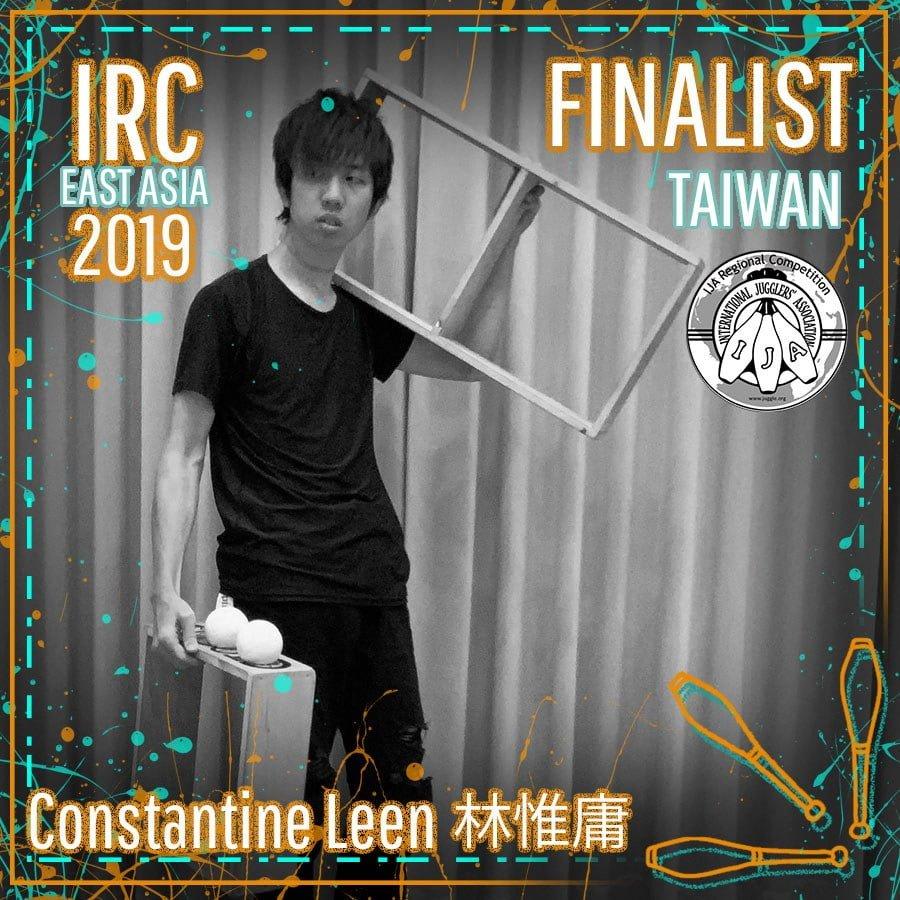 CONSTANTINE LEEN, IRC East Asia 2019 Finalist