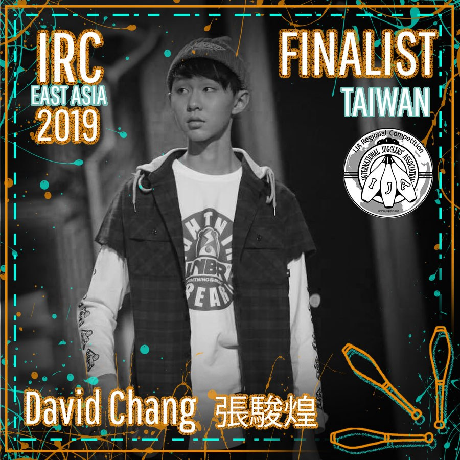 DAVID CHAN, IRC East Asia 2019 Finalist