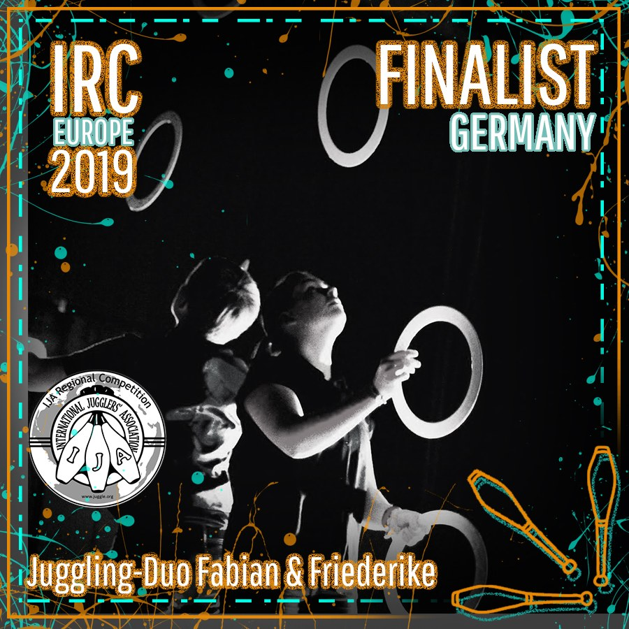 IRC Europe 2019 Finalist - Juggling-Duo Fabian & Friederike
