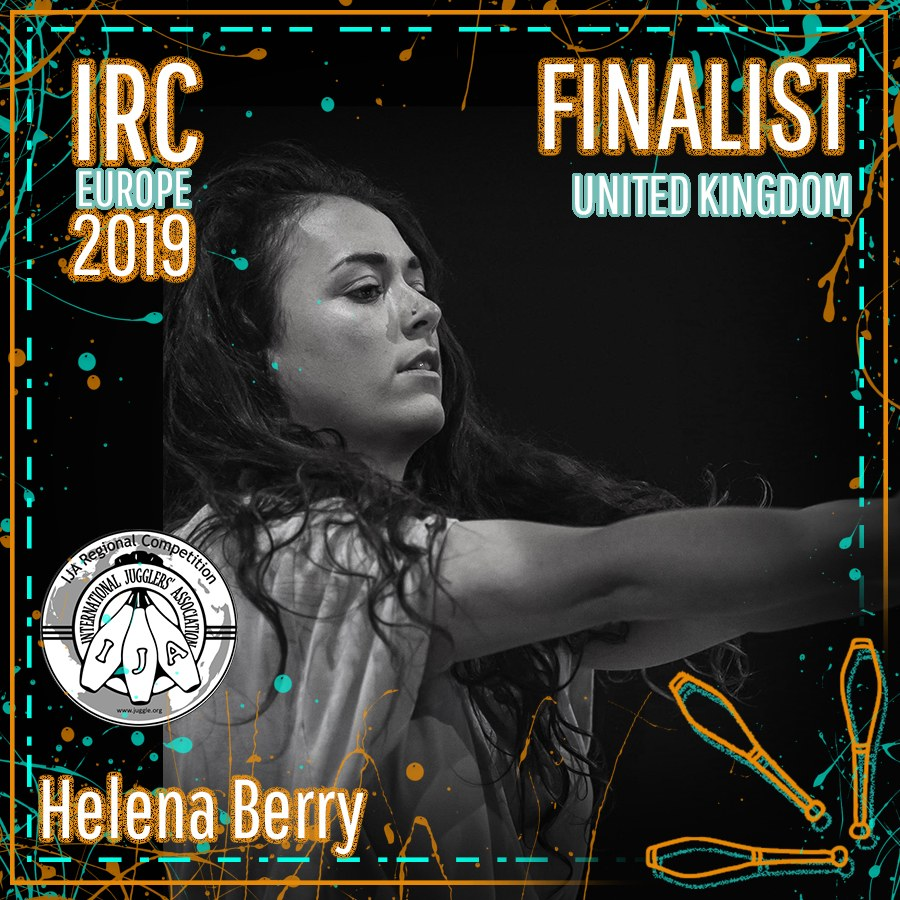 IRC Europe 2019 Finalist - Helena Berry