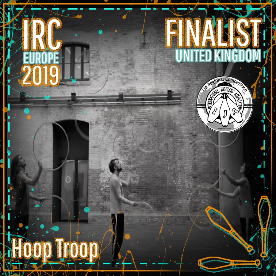 IRC Europe 2019 Finalist - Hoop Troop