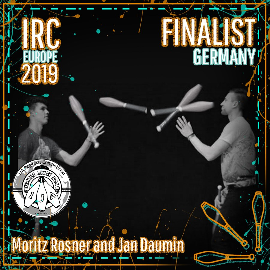 IRC Europe 2019 Finalist - Moritz Rosner and Jan Daumin
