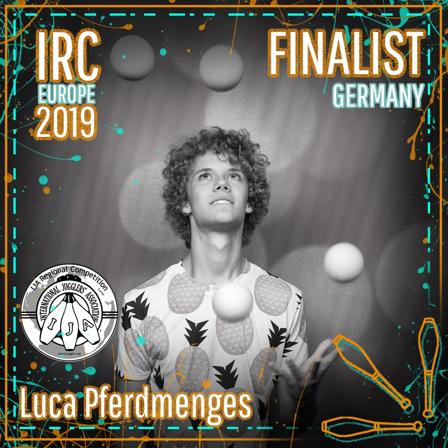 IRC Europe 2019 Finalist - Luca Pferdmenges