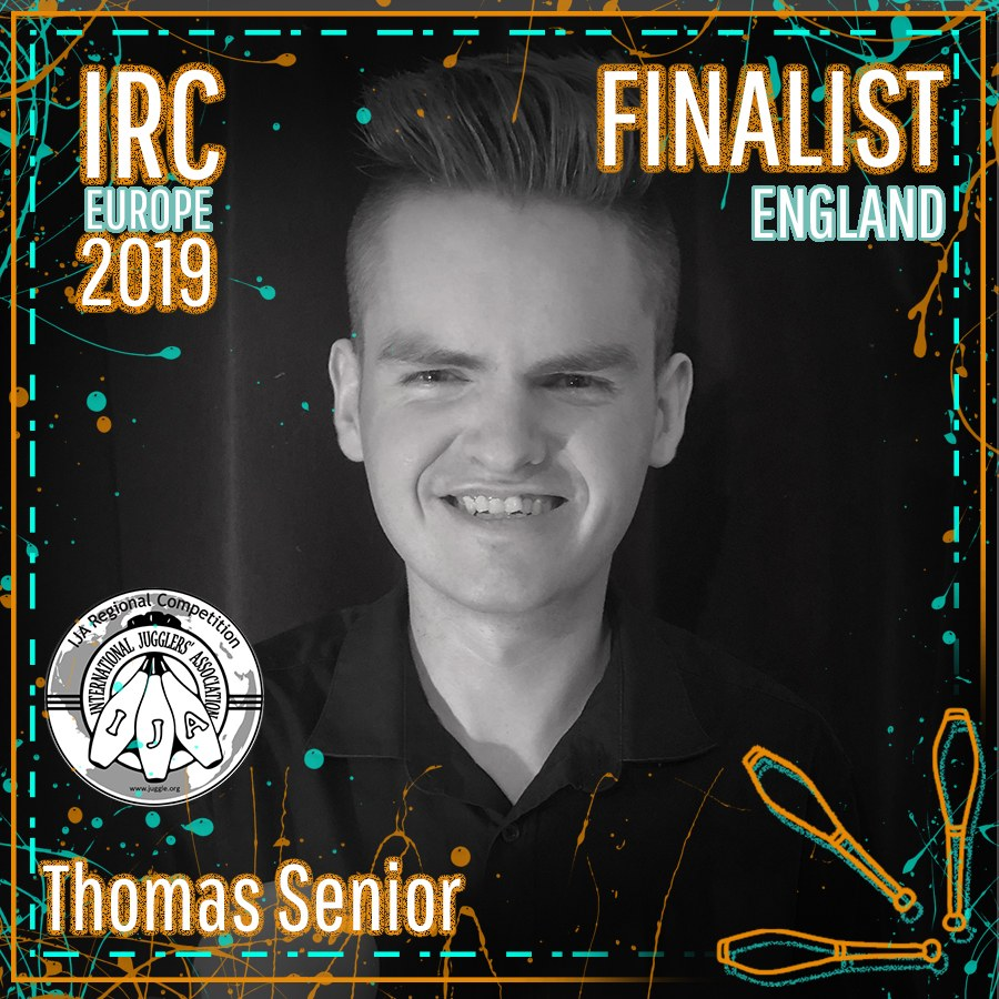 IRC Europe 2019 Finalist - Thomas Senior