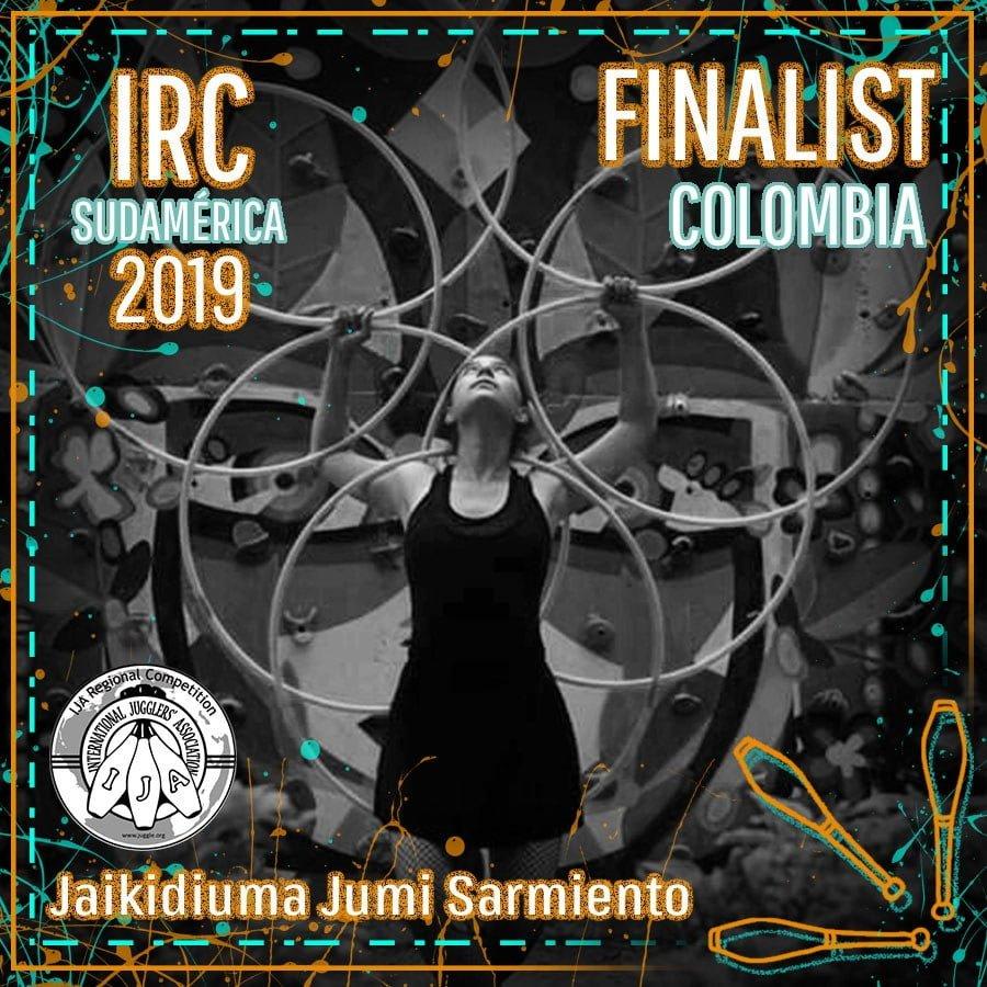Sudamérica Finalista - Jaikidiuma Jumi Sarmiento