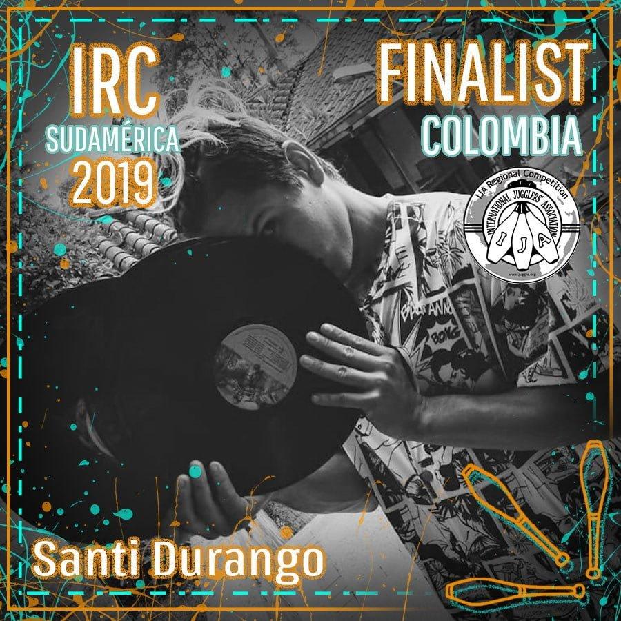 Sudamérica Finalista - Santiago Durango Bedoya