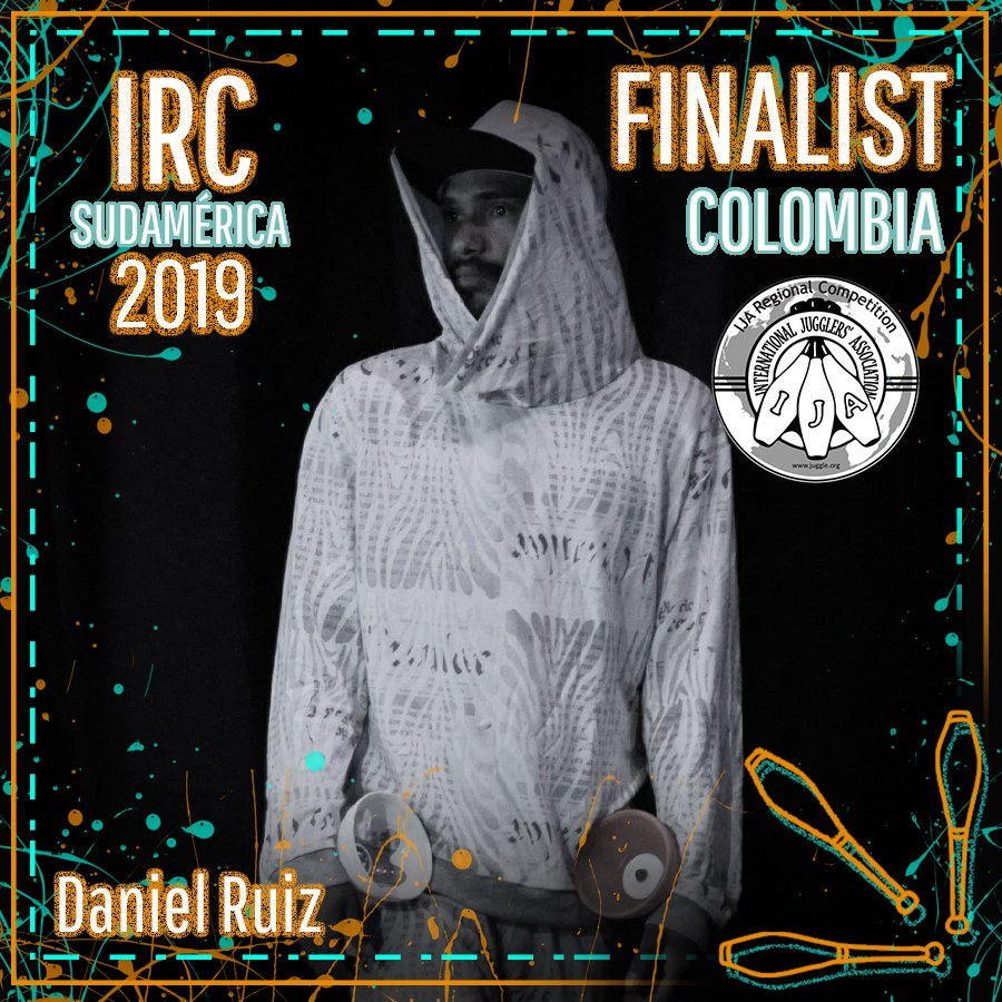 Sudamérica Finalista - Daniel Ruiz