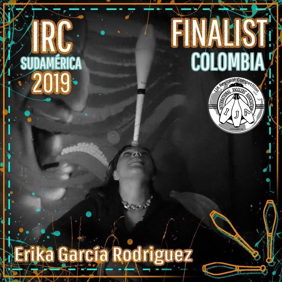 Sudamérica Finalista - Erika Maria García Rodriguez