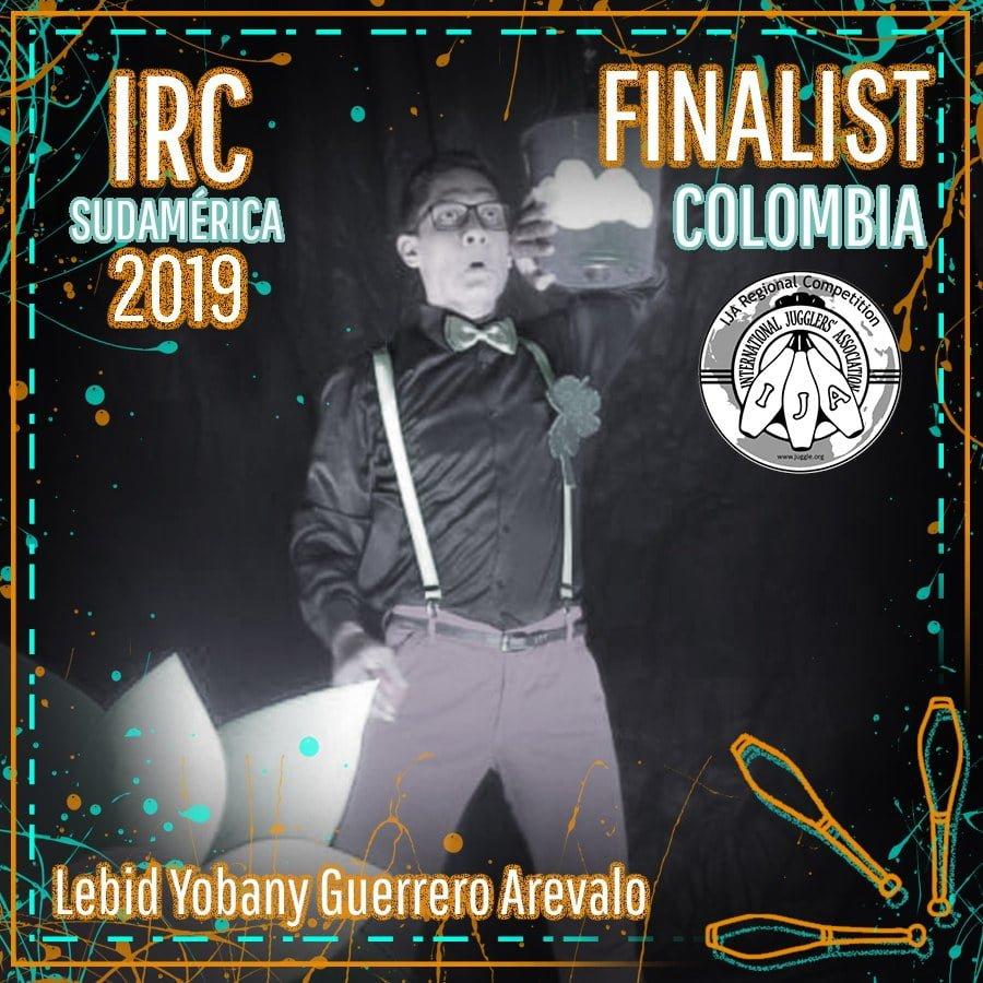 Sudamérica Finalista - Lebid Yobany Guerrero Arevalo