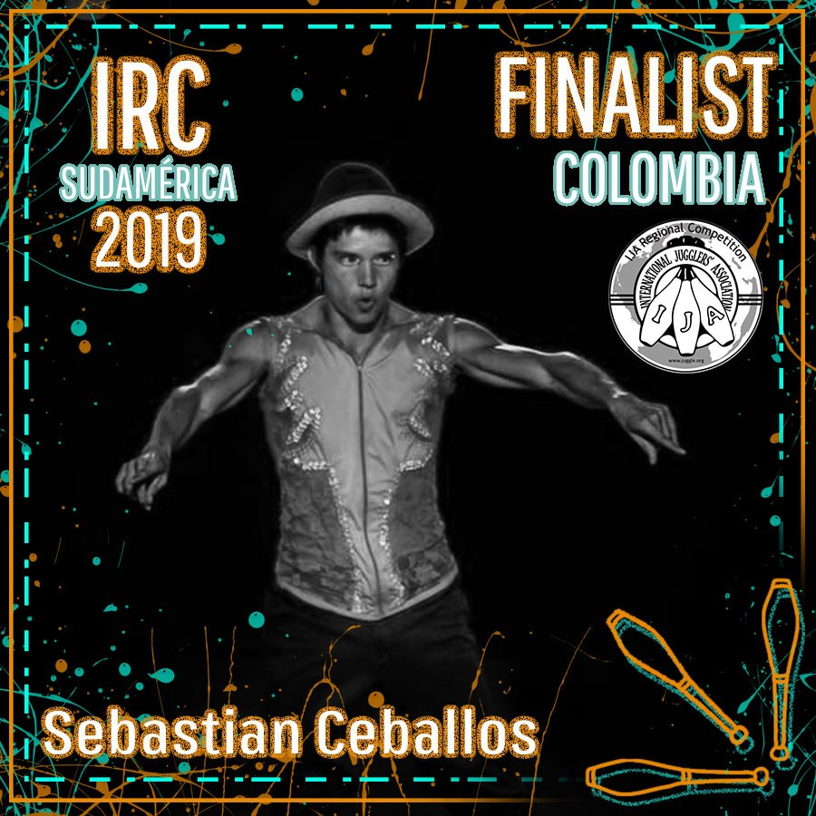 Sudamérica Finalista - Sebastian Ceballos Ceballos