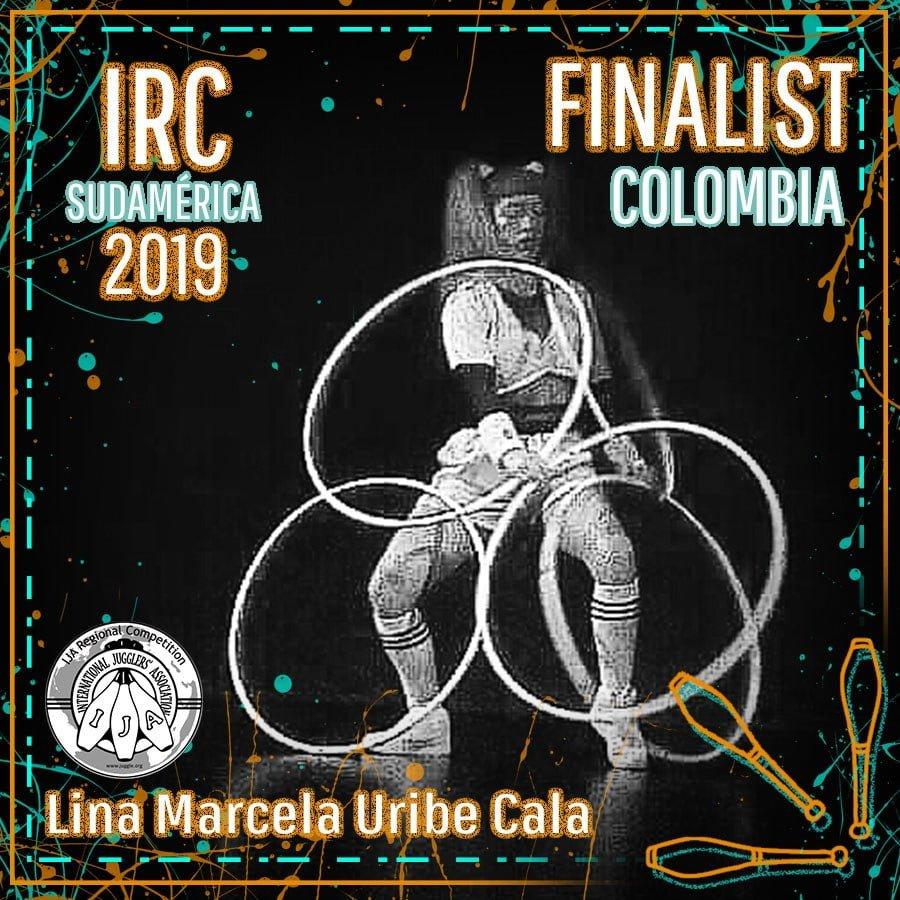 Sudamérica Finalista - Lina Marcela Uribe Cala