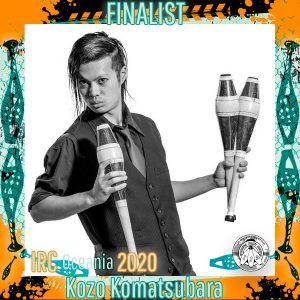 Kozo Komatsubara - IRC Oceania 2020 Finalist