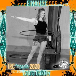 Laura Oakley - IRC Oceania 2020 Finalist