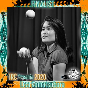 Lisa Komatsubara - IRC Oceania 2020 Finalist