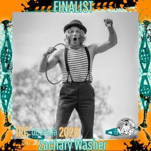 Zachary Washer - IRC Oceania 2020 Finalist