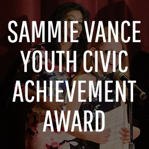 Sammie Vance Youth Civic Achievement