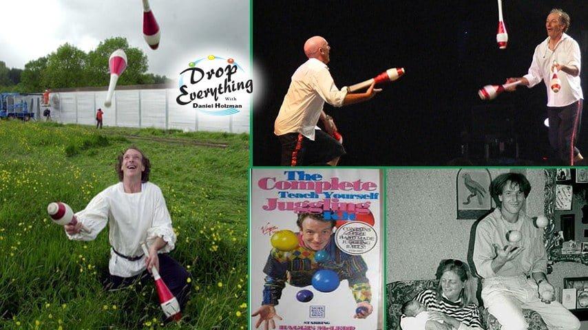 "Haggis McLeod on ""Drop Everything"" podcast with host Dan Holzman"