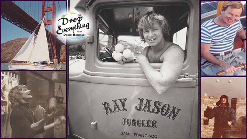 "Ray Jason on ""Drop Everything"" podcast with host Dan Holzman"